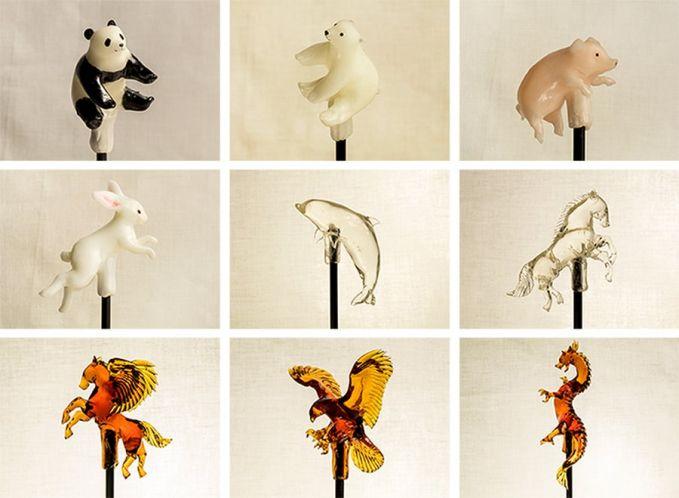 Karya Shinri Tezuka kebanyakan terinspirasi dari sosok hewan Pulsker. Ada hewan di dunia nyata hingga makhluk mitologi seperti pegasus dan naga.