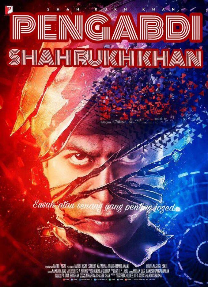 Widih, pasti ini semua para fans berat Shah Rukh Khan nih yang bikin. Filosofinya juga mantep gan, susah senang yang penting joged bro. Emang deh, bukan orang Indonesia namanya kalau nggak kreatif. Sampai-sampai judul film yang lagi booming kayak gini diplesetin. Dari yang awalnya film horor, malah bikin perut ngocol.