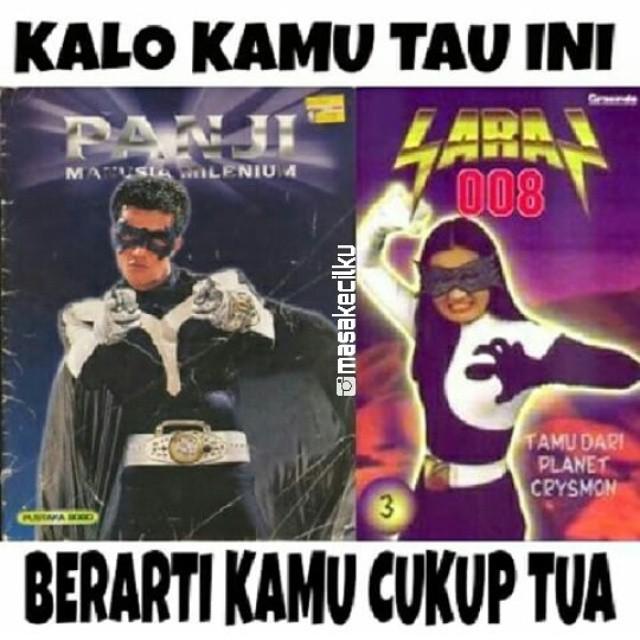 Dulu selain 'Saras 008' ada serial lain nih gaes yang menggambarkan sosok superhero asli Indonesia. Yakni 'Panji Manusia Milenium' yang diperankan oleh aktor Primus Yustisio.