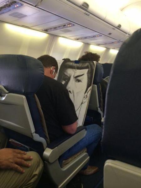 Bisa dipastikan jika orang ini penggemar berat Star Trek.