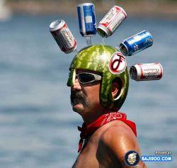 Ketika Kulit Semangka Menjadi Sebuah Helm Unik