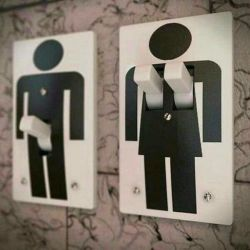 9 Simbol Toilet yang Memperlihatkan Perbedaan Kepribadian Pria dan Wanita..Unik Banget!