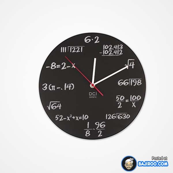 Cuma anak matematika yang paham sama jam dinding beginian. Orang awam pasti bakalan pusing ngeliat rumus-rumus begitu. Tinggal pilih aja Pulsker, mana nih jam dinding yang pas buat karakter dan sesuai hobimu. Keren bukan?.