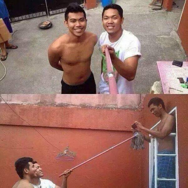Duh, ini biar apa coba sampai kayak gini ya?. Ada-ada aja nih ulah para netizen gaes. Jangan-jangan kalian juga pernah ngelakuin aksi konyol seperti mereka?.