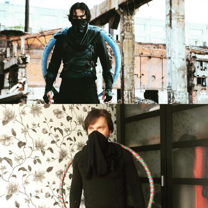 Udah mirip sama ninjanya belum nih gaes menurut kalian?.