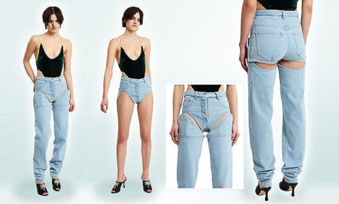 Saat cuaca panas dan gerah nggak perlu capek-capek lho buat ganti celana pendek. Tinggal copot bagian bawahnya aja Pulsker.