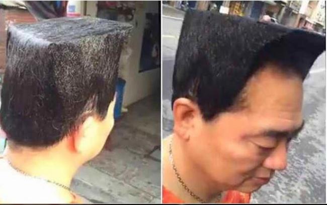 Pasti tukang cukurnya pakai penggaris biar hasilnya presisi dan sesuai dengan apa yang diminta oleh pelanggannya.