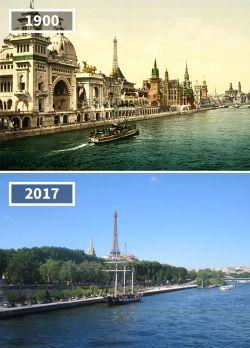 Pemandangan Kota-Kota di Eropa Dulu dan Sekarang