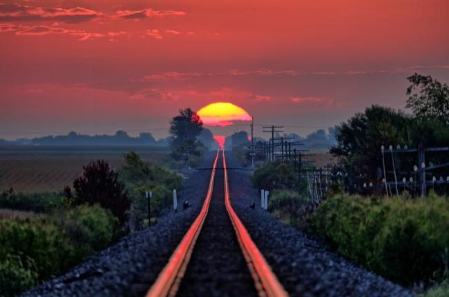 Jalan menuju matahari..Keren banget kan?!