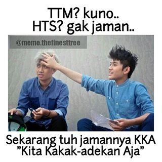 Dulu istilah TTM, HTS booming banget Pulsker. Seiring perkembangan pergaulan anak muda sekarang muncul istilah KKA.