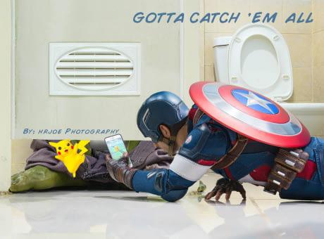 Asik main Pokemon Go mulu, jadi lupa deh membasmi kejahatan.