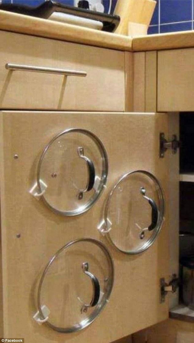Selain mudah diambil saat dibutuhkan, juga membuat dapur kita menjadi lebih artistik.