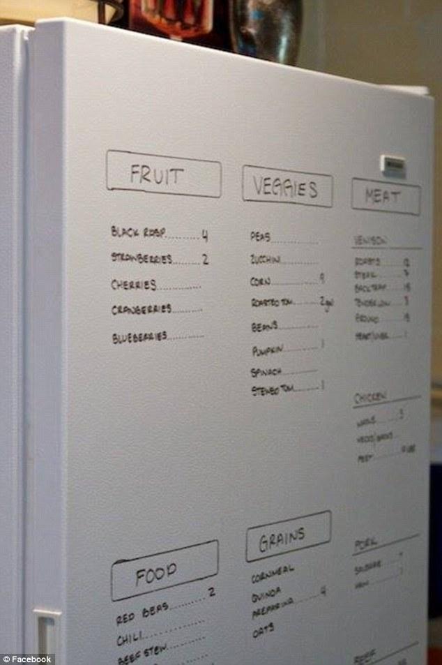 Daripada ditempelin pakai kertas yang bikin dinding nggak enak dipandang, mending pasang papan tulis kayak gini Pulsker.