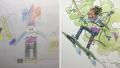 Ayah Kreatif Ini Ubah Gambar Coretan Anak-Anak Jadi Ilustrasi Kartun Keren