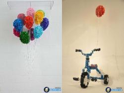 9 Karya Kerajinan Tangan Unik yang Dibuat dari Kancing Baju