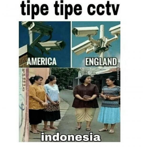 Kumpulan Meme CCTV Ini Bikin Kamu Ngakak Kocak