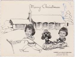 Tampilan Klasik Kartu Ucapan Selamat Natal Tempo Dulu