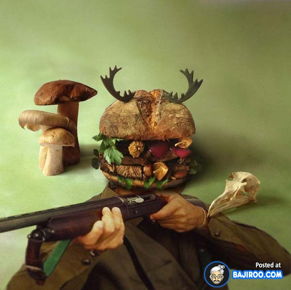 Hmm, enak nggak nih burger yang satu ini?.