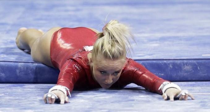 Nastia Luikin adalah salah satu atlet senam terbaik yang dimiliki oleh Rusia. Namun, ada kalanya dia belum bisa memberikan yang terbaik untuk negaranya.