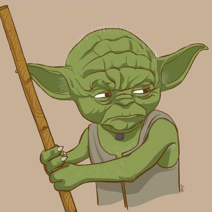 Sementara Yoda nampak mirip seorang tetua di desa-desa India.