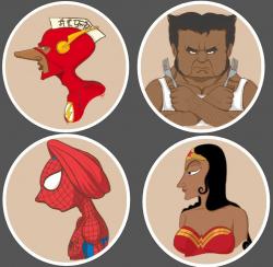 Gaya Unik Para Superhero Kalau Seandainya Mereka Hidup di India