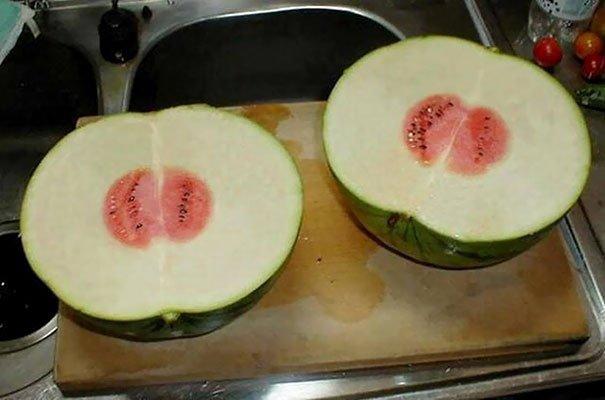 Pengennya ngejuz semangka, eh malah kaya gini dapetnya :(