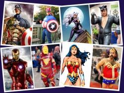 10 Cosplay Superhero Kocak yang Berbanding Terbalik dengan Aslinya
