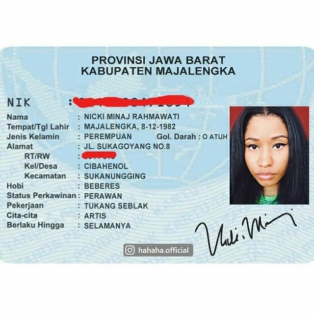 Merantau ke Majalengka, Nicky Minaj kini banting setir jadi tukang seblak dan ganti nama biar makin Indonesia banget.