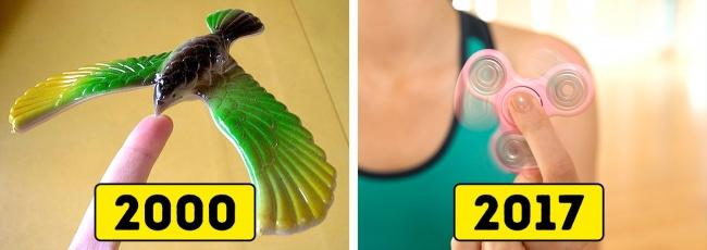 Jauh sebelum kemunculan fidget spinner, mainan berbentuk burung ini hits banget. Ukurannya juga beragam mulai dari yang kecil sampai berukuran besar.