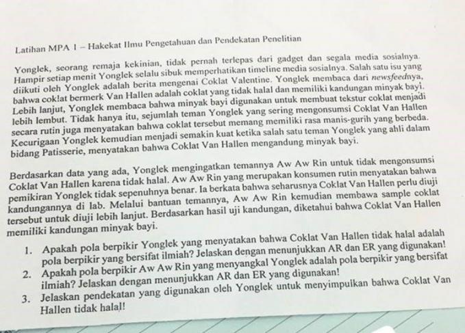 Kenapa harus Yonglek dan Van Hallen sih?. Padahal masih banyak tuh nama-nama yang Indonesia banget. Budi kek, Andi atau siapa lah.