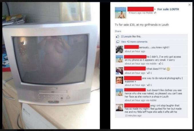 Waduh, niatnya mau jual TV kok malah gini ya?