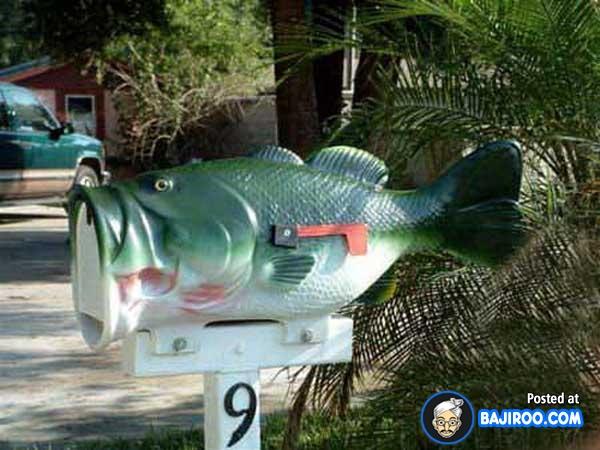 Bentuk ikan berwarna hijau nggak kalah kerennya lho.
