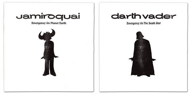 Darth Vader mencoba peruntungan lain dengan ngeluarin album baru nih Pulsker.