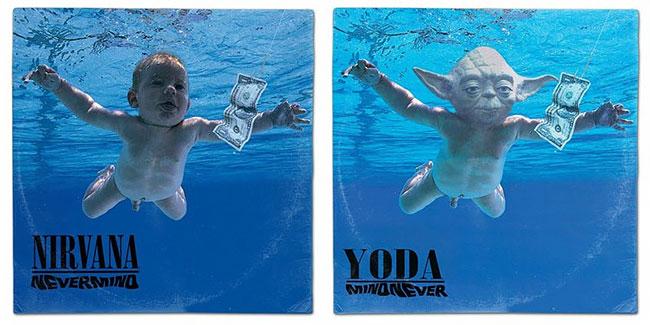 Lebih keren mana, bayi yang aslinya atau bayinya Yoda?.