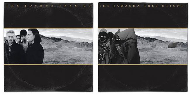 Cover album U2 juga tak luput dari sasaran mereka.