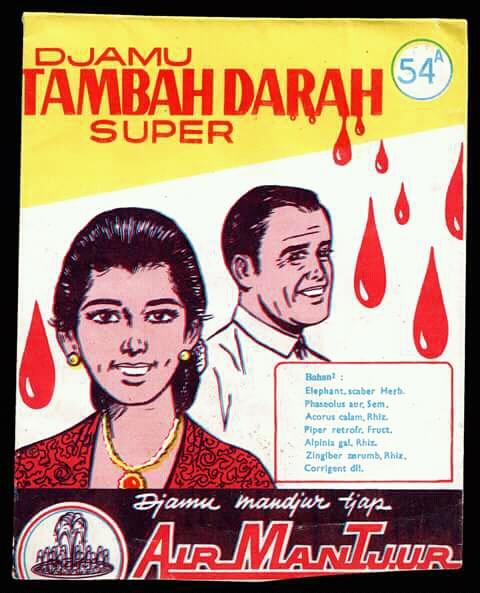 Tambah darah bukan berarti kalian minum darah seperti Drakula. Cukup dengan jamu tambah darah diseduh hangat.