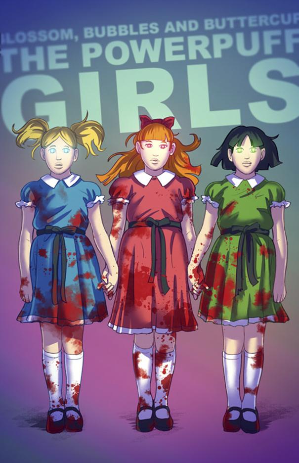 Sama halnya dengan ketiga sosok gadis mungil Powerpuff Girls. Dibalik kecantikannya mereka ternyata nyeremin.