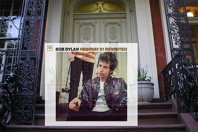 Ini adalah tangga nomor 4 Gramercy Park West, New York City yang dijadikan cover album David Bowie.