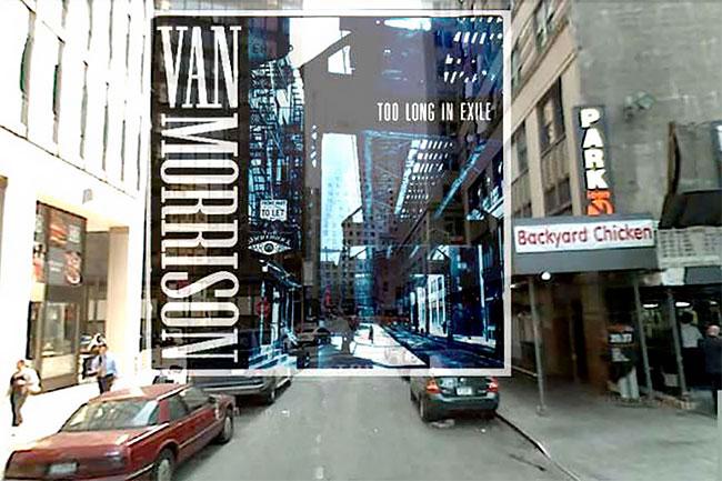 Foto cover album Van Morrison mengambil tempat di 246 Pearl Street, antara Fulton Street dan John Street.
