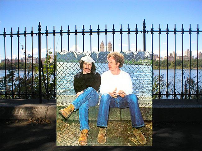 Tempat pengambilan gambar untuk album musisi Simon and Garfunkel di sisi timur Reservoir sampai sekarang nggak mengalami perubahan berarti lho.