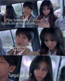 10 Meme tentang Dilan dan Milea di Angkot Ini Bikin Ngakak Kocak
