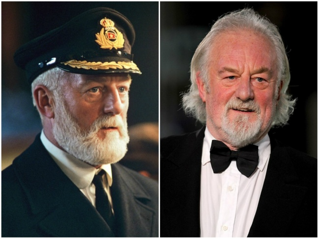 Waktu memerankan Captain Edward James Smith, rambut Bernard Hill masih pendek Pulsker.