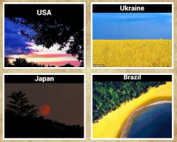 10 Fenomena dan Bentang Alam yang Menyerupai Bendera Negara di Dunia