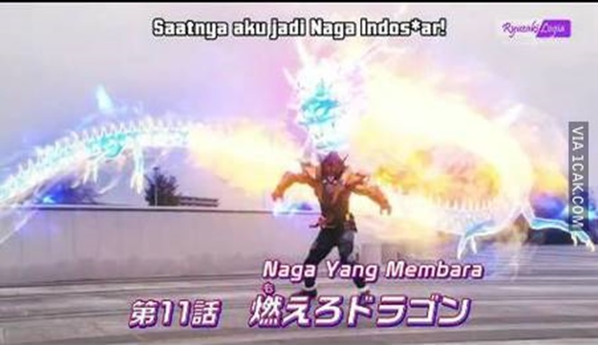 Pindah syuting naganya Pulsker, habis dari Indosiar syuting serial superhero.
