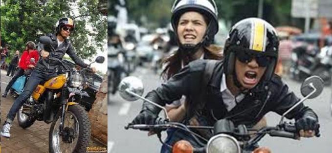 Dalam film Tarix Jabrix, motor Yamaha DT 100 juga menjadi satu identitas yang masih teringat jelas.