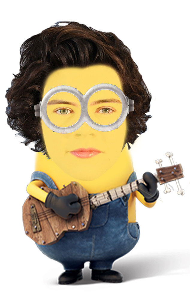 Si Harry Styles nggak ketinggalan pula tuh gitarnya dibawa-bawa.