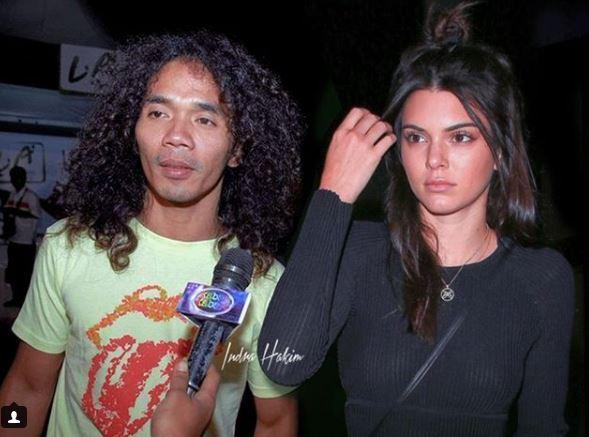 Wah, Kaka Slank lagi ada project apaan nih sama Kendall Jenner?.