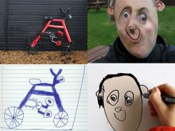 Begini Jadinya Kalau Gambar Anak-anak Divisualisasikan ke Bentuk Nyata