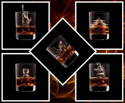 Bukan Sekedar Pelengkap Minuman, 10 Bentuk Es Batu Ini Bernilai Seni Tinggi