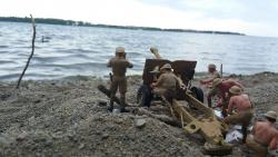 Ditangan Seniman Kanada, Action Figure Tentara Ini Makin Terlihat Hidup